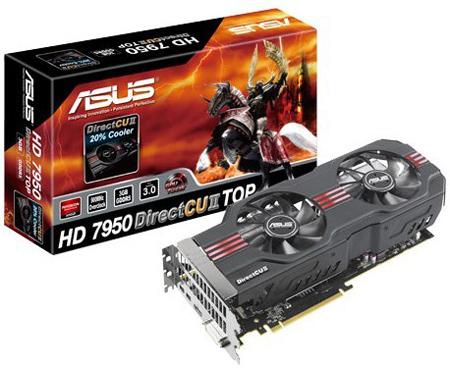 ASUS ��������� ��� ������ Radeon HD 7950, ��� �� ������� �������� � ������� �� �� ��� �����