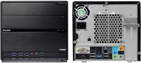 Shuttle XPC Barebone SZ68R5: основа для мини-ПК на чипсете Intel Z68 Express