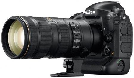 Камера Nikon D4 представлена официально
