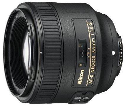 Портретный объектив AF-S Nikkor 85mm f/1.8G стоит $499