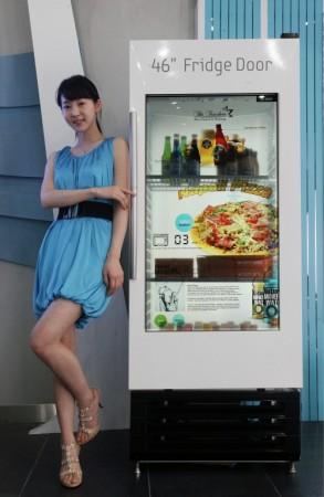 Прозрачная 46-дюймовая ЖК-панель Samsung
