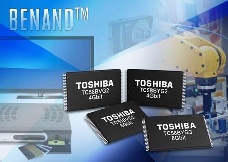 Флэш-память Toshiba BENAND имеет встроенные средства ECC