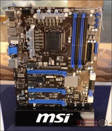 Системная плата MSI Z77A-GD80