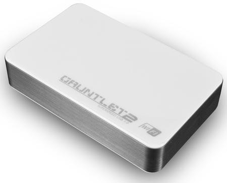 Корпус для сетевого накопителя Patriot Gauntlet Wi-Fi рассчитан на беспроводное подключение до пяти устройств