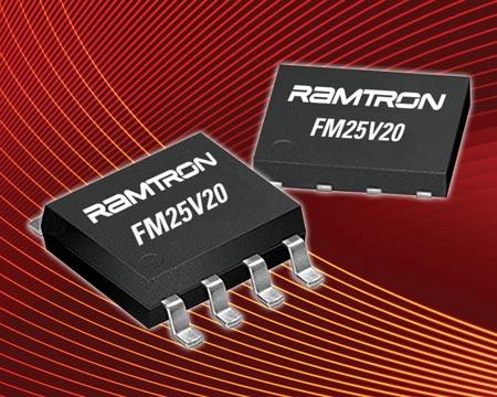 Ramtron ��������� � ��������� ����������������� ������ ���� F-RAM ���������� FM25V20 ������� 2 ����