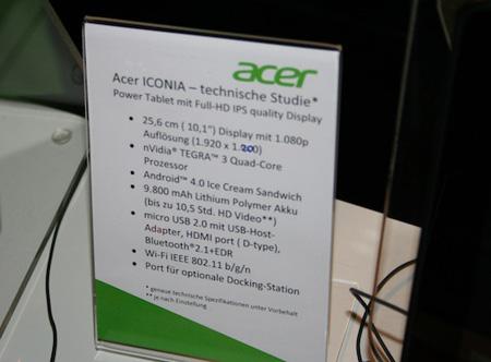 Емкость аккумуляторной батареи Acer Iconia Tab A700 - 9800 мАч