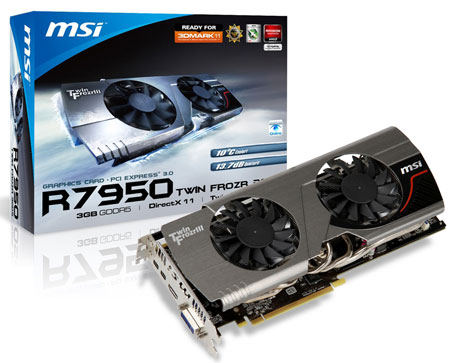 MSI R7950 Twin Frozr 3GD5