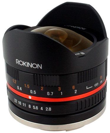 ������ ����������� ��������� Rokinon 8mm f/2.8 ��� ����� Sony NEX