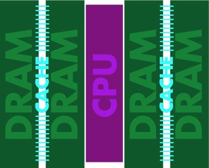 Venray Technology встраивает процессор в память типа DRAM