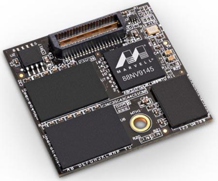 Контроллер Marvell 88NV9145 имеет интерфейс PCIe 2.0 x1