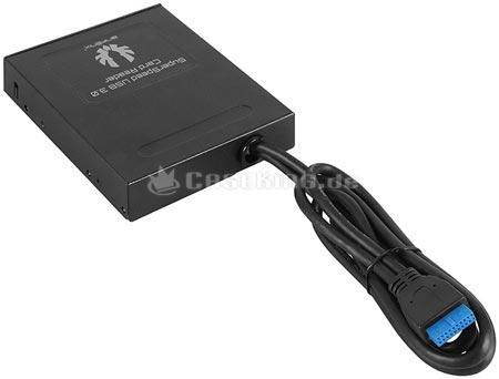 BitFenix оснащает интерфейсом USB 3.0 универсальное устройство для работы с картами памяти