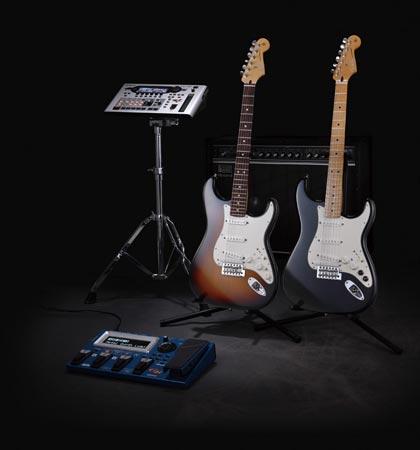 Roland и Fender представили электрогитару GC-1 Stratocaster со встроенным датчиком GK