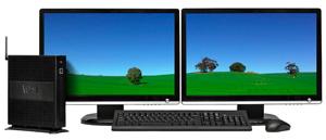 ������� ������� ������� Wyse R10L � ���������� Microsoft RemoteFX ��������� ��������� AMD