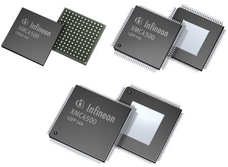 Основой микроконтроллеров Infineon XMC4000 стало ядро ARM Cortex-M4