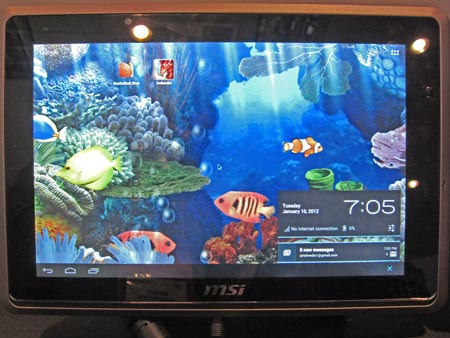 AMD на CES 2012: APU Trinity, мобильные GPU 7000M, Android на платформе x86 и Lightning Bolt