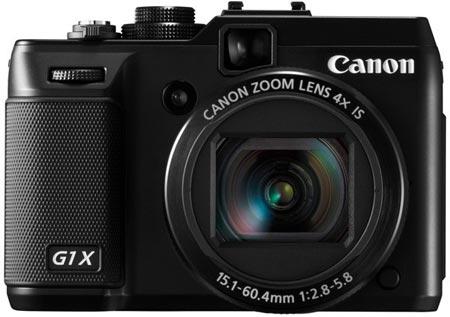 В компактной камере Canon PowerShot G1 X используется датчик размером 18,7×14 мм разрешением 14,3 Мп