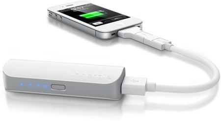 CES 2012: емкость универсальной внешней батареи Innergie PocketCell равна 3000 мА•ч