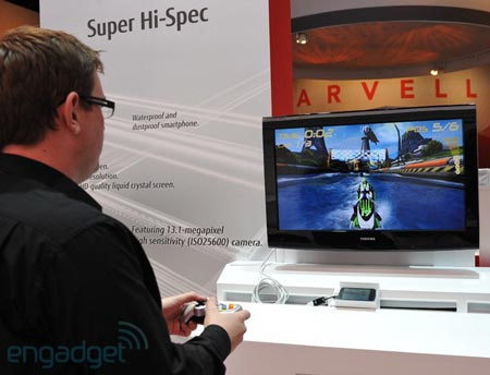 Фото дня: прототип смартфона Fujitsu Arrows на четырехъядерном процессоре Tegra 3