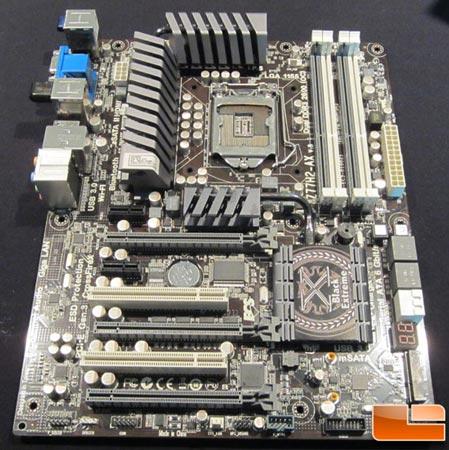 CES 2012: системная плата ECS Z77H2-AX с процессорным гнездом LGA 1155