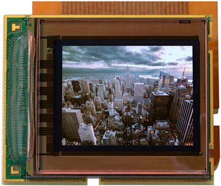 Специалисты MicroOLED создали микродисплей OLED с рекордной плотностью пикселей