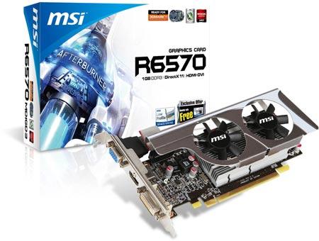 Ассортимент MSI пополнился низкопрофильными 3D-картами серии R6570