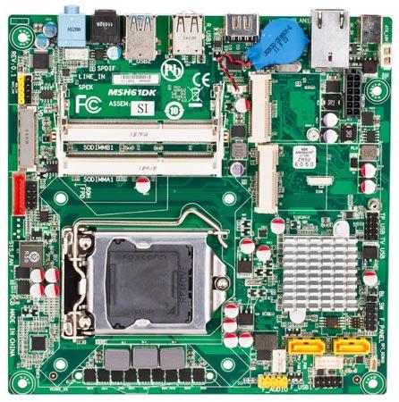 ��� ��������� ����� Gigabyte MSH61DK ������ ���������� mini-ITX