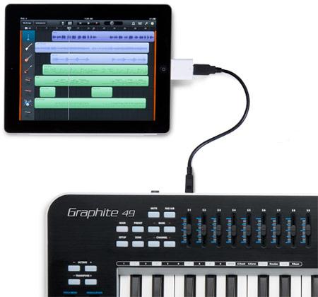 Продажи MIDI-контроллера Samson Graphite 49 начнутся в июне