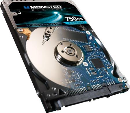 Monster Digital предложит наборы для модернизации ПК, в состав которых входит гибридный накопитель Seagate Momentus XT