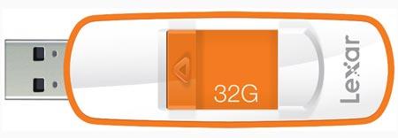 Накопитель Lexar JumpDrive S73 оснащен интерфейсом USB 3.0