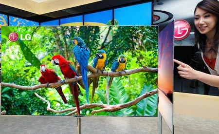 В панели используется фирменная структура пикселей из четырех цветов 4-Color Pixel и технология Color Refiner