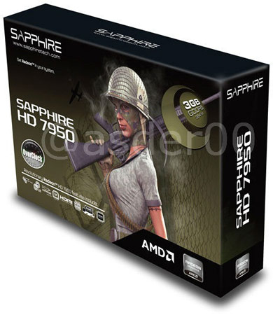 Фото дня: 3D-карт Sapphire HD 7950