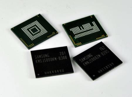 Многочиповые микросхемы памяти Samsung eMCP