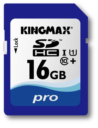 Скорость карт памяти KINGMAX серий SDHC Pro и SDXC ProMax в режиме чтения достигает 55 МБ/с