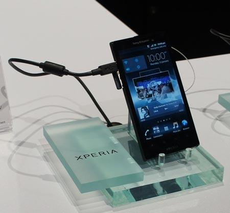 CES 2012: первые смартфоны Sony под собственной маркой, пока полуофициально — Xperia Ion и Xperia S