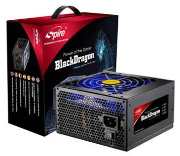 Spire анонсирует серию блоков питания BlackDragon
