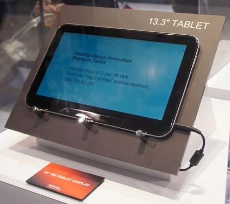 Планшеты Toshiba на CES 2012