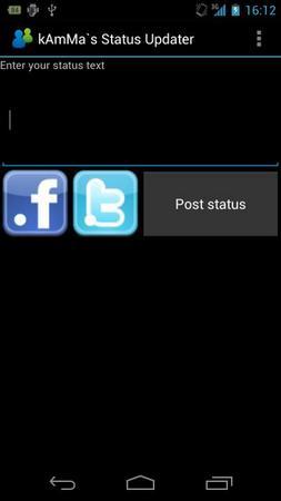 Status Updater