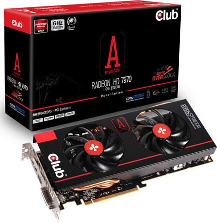 Club 3D Radeon HD 7970 royalAce