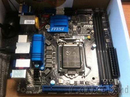 Системная плата MSI Z77IA-E53