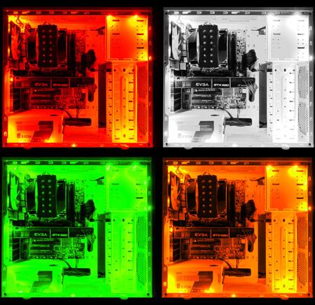 Контроллер NZXT Hue предназначен для управления светодиодной подсветкой корпуса ПК