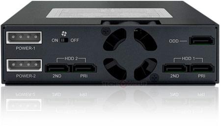 Icy Dock MB994IPO-3SB — еще один способ рационально распорядиться отсеком типоразмера 5,25 дюйма