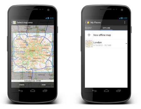 Google Maps ��� Android