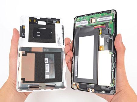 Стоимость компонентов Google Nexus 7 — $152