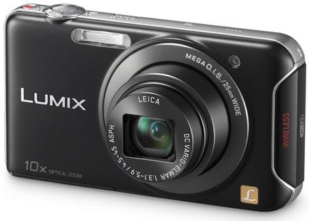 Компактный цифровой фотоаппарат Panasonic DMC-SZ5 поддерживает Wi-Fi
