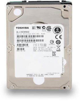 Корпоративные HDD Toshiba AL13SE оснащены интерфейсом SAS 6 Гбит/с