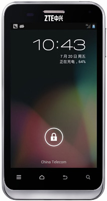 ZTE N880E ������ ����������� ������������ �������� Android 4.1 Jelly Bean