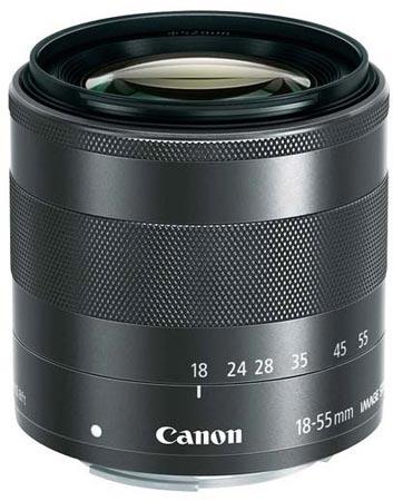 Появились спецификации Canon EOS M