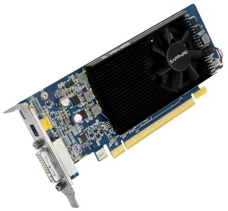 SAPPHIRE HD 7750 1GB Low profile