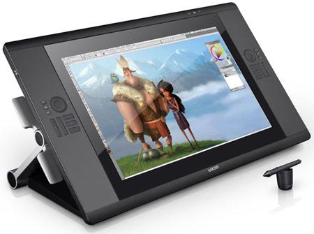 Ассортимент Wacom пополнил планшет Cintiq 24HD touch