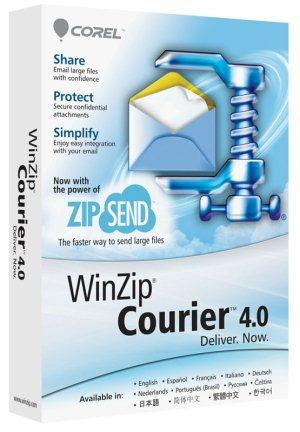 WinZip Courier Logo